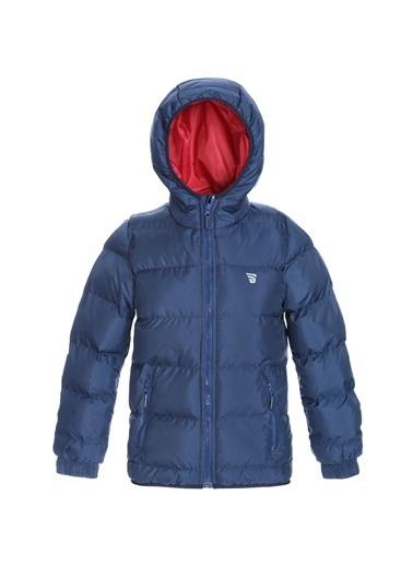 Sportive Çocuk Kırmızı Kapüşonlu Outdoor Mont B10007-Krm Lacivert